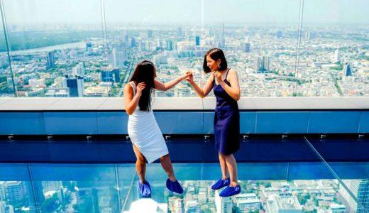 【タイ バンコク】スカイウォークのスリル満載!? インスタ映えでも人気スポットのMahanakhon Skywalk (展望台)
